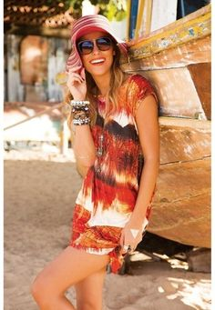 Vestido Franzido De Chelles Acqua - comprar online