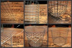 Wire basket how-to