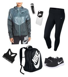 """""""School Clothes #19"""" by lily141 on Polyvore featuring NIKE and Victoria's Secret"""