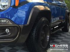 2015 Jeep Renegade - Jeep Renegade Fender Flares by MADNESS - MADNESS Autoworks - Auto Parts and Accessories