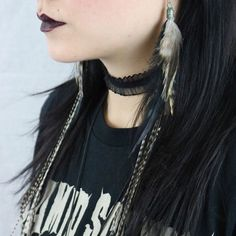 These long feathers are still some of my favorites ever! These are real hair feathers and can be straightened or curled. So beautiful!