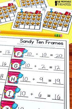 Summer Centers for Kindergarten