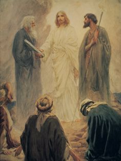 What was the meaning and importance of the transfiguration?Painting:The Transfiguration, by W. H. Margetson