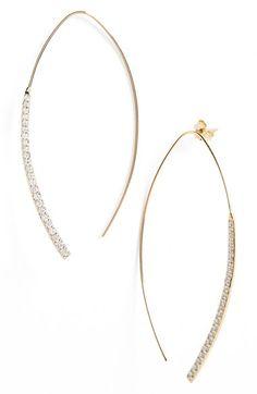 Lana Jewelry 'Elite - Electric Flawless' Small Arch Drop Earrings