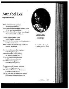 annabel lee analysis essay