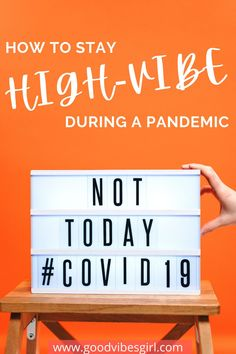 It's not exactly easy to practice self-care during a pandemic. These tips will help you stay high-vibe and show up as your best self!   #selfcare #selfcaretips #goodvibes #highvibes Stay High, Best Self, Blog Tips, Good Vibes, Self Care, Lifestyle Blog, Mental Health, Success, Good Things