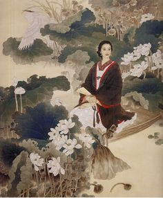 Zhao Guojing and Wang Meifang Korean Art, Asian Art, Art And Illustration, Chinese Painting, Chinese Art, Fantasy Kunst, Fantasy Art, Art Asiatique, Beauty Art