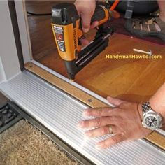 Beautiful Entry Door Threshold Extension