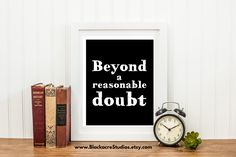 Beyond a Reasonable Doubt - Standard of Proof - Trial Practice - Courtroom Quotes - Lawyer Gift - Home Decor - Digital Download - Wall Art Thomas Jefferson, Law School Quotes, Standard Poster Size, Lawyer Gifts, Printable Bible Verses, Home Quotes And Sayings, Free Quotes, Bible Verse Art, Free Bible
