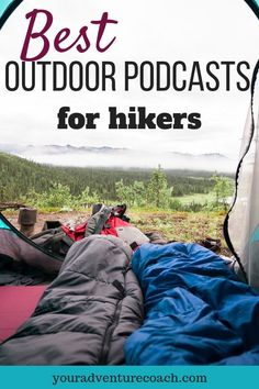 If you're looking something new and inspiring to listen to check out this list of our favorite outdoor podcasts for hikers. If you're looking something new and inspiring to listen to check out this list of our favorite outdoor podcasts for hikers. Backpacking Tips, Hiking Tips, Hiking Gear, Hiking Backpack, Ultralight Backpacking, Hiking Boots, Hiking Training, Backpack Bags, Thru Hiking