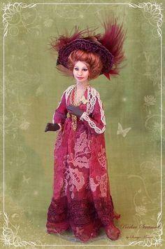 soraya dolls | ... Dolly! ooak Edwardian lady 1:12 doll by Soraya Merino - Incredible