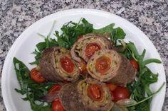 Rotolo di manzo e zucchine