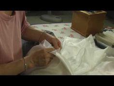 I sew the Japanese kimono和裁、着物の縫い方、胴接ぎ2 - YouTube