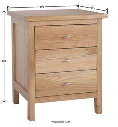 Outstanding Bedside Cabinet Ideas: Balmain Oak Bedside Cabinet ~ rolemodelmovement.com Bedroom Inspiration