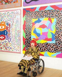 草間彌生 Yayoi Kusama: My work comes from hallucinations only I can see. Andy Warhol, Yayoi Kusama Pumpkin, Japanese Artists, Conceptual Art, Oldenburg, Contemporary Artists, Art Lessons, Art History, Amazing Art