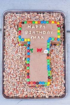kitchen doughdough: alphabet party cake
