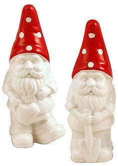 Dot & Bo Gnome Couple Salt & Pepper Set