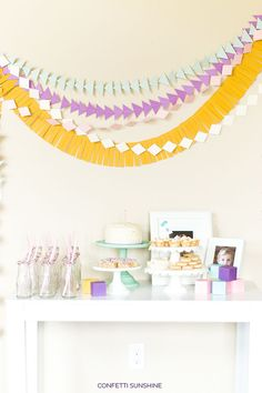 Such an adorable 1st birthday party!