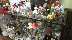 Beanie Babies for sale at a Thrift Store in Burlington 7f5789f7bfcb