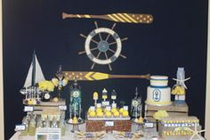 """Sailor/nautical / Baby Shower/Sip & See """"Sailor Themed Baby Shower"""" 