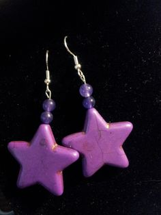 Purple stone stars with amethyst classy but modern all at the same time.
