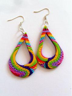 Colored much tears would Katja_dyzajn - SAShE.sk - Handmade Earrings