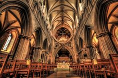 Wells Cathedral - interior by Vitaloverdose.deviantart.com on @DeviantArt