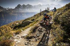 The @DMR_bikes crew hear to #Chamonix with @danmilnerphoto
