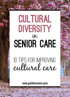 Cultural diversity is an important factor influencing senior care. Providing culturally sensitive care is essential to supporting the elderly from diverse cultu