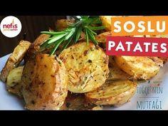 Fırında Özel Soslu Patates (Cips Gibi) Videolu – Nefis Yemek Tarifleri
