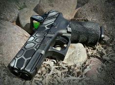 Kryptek Glock. Gotta get this done to mine!