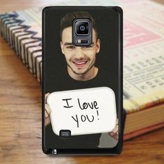 Liam Payne One Direction Singer Boyband Samsung Galaxy Note Edge Case