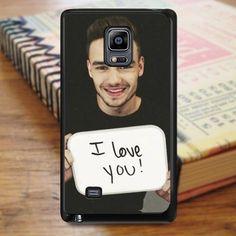 Liam Payne One Direction Singer Boyband Samsung Galaxy Note Edge Case
