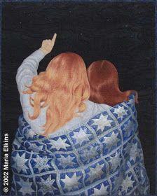 Quilt Inspiration: Maria Elkins Art Quilts