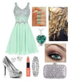 """Prom (lloyd's girlfriend {me} [ninjago] )"" by magconxalex ❤ liked on Polyvore featuring Mikimoto, Rainbow Club, women's clothing, women's fashion, women, female, woman, misses and juniors"