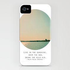 Swim The Sea iPhone Case by Alicia Bock - $35.00