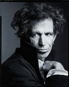 Keith Richards by Mark Selinger