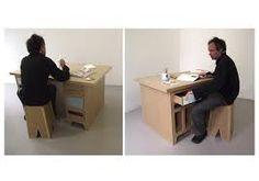 Resultado de imagen para Cardboard desk