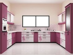 secrets about purple kitchen cabinets 2019 and purple kitchen accessories. We will also tell you about the trends purple kitchen ideas and its combination such as purple and white kitchen decor. Simple Kitchen Design, Kitchen Room Design, Best Kitchen Designs, Kitchen Cabinet Design, Interior Design Kitchen, Kitchen Ideas, Interior Ideas, Kitchen Photos, Kitchen Inspiration