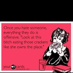 Ain't that the truth.  Hahaha!