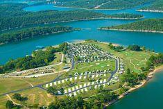 9 of America's Top-Rated Luxury RV Resorts - ozarks rv resort arkansas - Camping Spots, Rv Camping, Glamping, Camping Items, Luxury Camping, Camping Trailers, Camping Stuff, Camping Outdoors, Family Camping