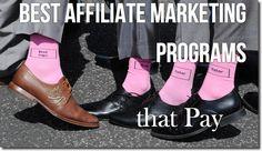 Best Affiliate Marketing Programs | Affiliate Marketing 2013