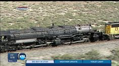 world's largest steam engine | 5PM: Huge steam locomotive visiting S.L.