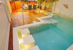 Zeit Für Entspannung In Auffälligen Schwimmbad Design