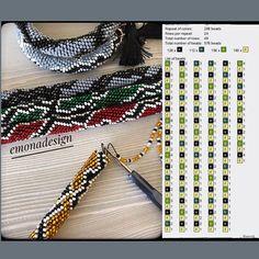 Crochet Bracelet Pattern, Crochet Beaded Bracelets, Bead Crochet Patterns, Crochet Chart, Bracelet Patterns, Beading Patterns, Beaded Jewelry, Crochet Earrings, Bead Loom Designs
