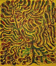 Tree / Maarit Korhonen, acrylic,canvas, 73cm x 61cm Dark Paintings, Original Paintings, Acrylic Canvas, Canvas Art, Dancer In The Dark, Autumn Painting, Original Art For Sale, Online Painting, Artists Like