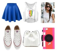 """"" by vannabellazzi on Polyvore featuring moda, Converse, Sole Society, Kate Spade, women's clothing, women's fashion, women, female, woman e misses"