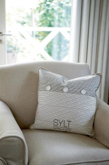 Coming Soon | Rivièra Maison Sylt Salty Shore Pillowcover black 50x50