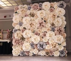 Step and repeat, round Paper flower wall, circle Paper flower wall, Houston Paper Flowers, Houston c Flower Wall Wedding, Wedding Wall, Wedding Paper, Flower Wall Backdrop, Wall Backdrops, Paper Flower Decor, Giant Paper Flowers, New York Papers, Rose Wall