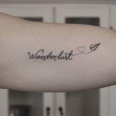 Tatuagens de viagens são comuns porque colocam na pele uma das maiores paixões do ser humano: conhecer o mundo